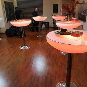 میز سوارز پایه استیل