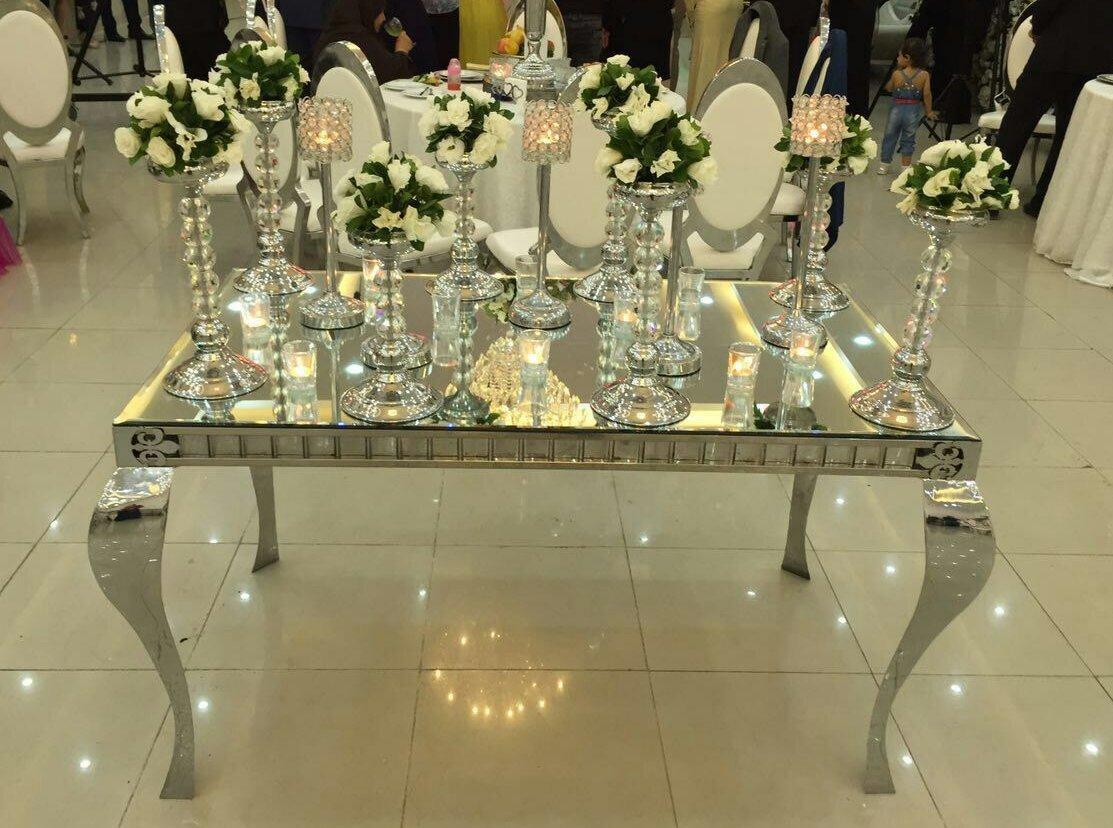 میز کوئین آینه ای ۱80